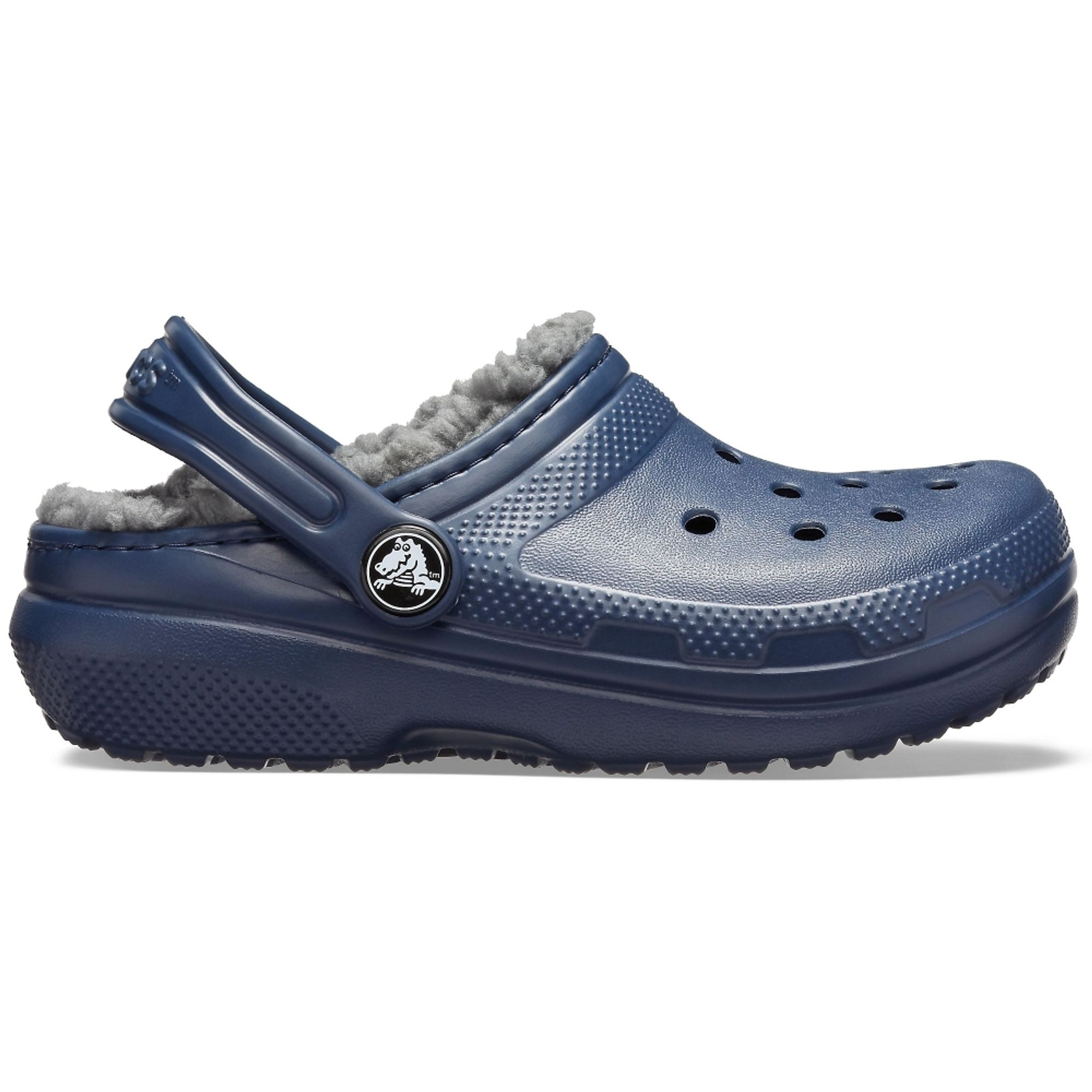 Kids'-Classic-Lined-Clog-color-Navy---Charcoal-talla-J2